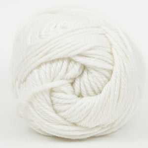 Perfection Dk-Yarn-Kraemer Yarns-Snowflake 2261-The Sated Sheep