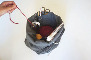 Plystre Project Bag-Bags-Mother Knitter-The Sated Sheep