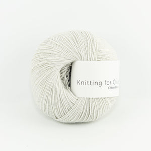 KFO Cotton Merino-Yarn-Knitting for Olive-Putty-The Sated Sheep