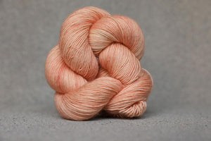 Qing Fingering-Yarn-Qing-Bedrock Dust-The Sated Sheep