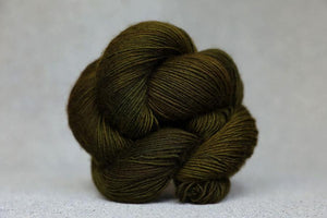 Qing Fingering-Yarn-Qing-Bedrock Moss-The Sated Sheep