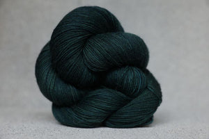 Qing Fingering-Yarn-Qing-Dark Forest-The Sated Sheep