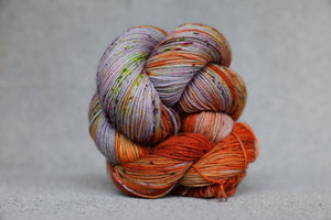 Qing Fingering-Yarn-Qing-Hurricane-The Sated Sheep