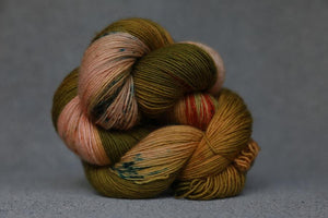 Qing Fingering-Yarn-Qing-Monsoon-The Sated Sheep