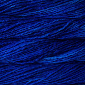 Rasta Super Bulky-Yarn-Malabrigo-415 Matisse Blue-The Sated Sheep