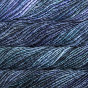 Rasta Super Bulky-Yarn-Malabrigo-856 Azules-The Sated Sheep