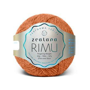 Rimu Dk-Yarn-Zealana-R03 Bt. Orange-The Sated Sheep