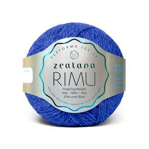 Rimu Dk-Yarn-Zealana-R06 Lake-The Sated Sheep