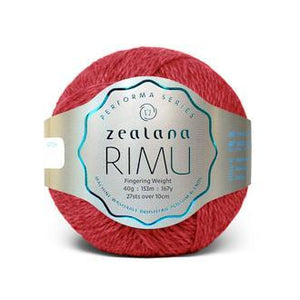Rimu Dk-Yarn-Zealana-R13 Toto Red-The Sated Sheep