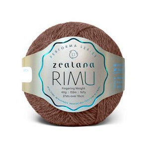 Rimu Dk-Yarn-Zealana-R14 Paru-The Sated Sheep