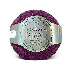 Rimu Dk-Yarn-Zealana-R27 Orchid-The Sated Sheep
