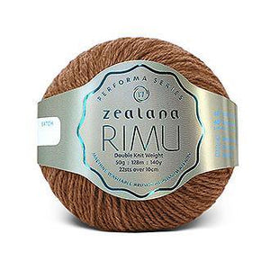 Rimu Dk-Yarn-Zealana-R29 Caramel-The Sated Sheep