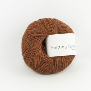 KFO Cotton Merino-Yarn-Knitting for Olive-Rust-The Sated Sheep