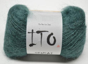 Sensai Lace-Yarn-Ito Yarns-342 Pool Green-The Sated Sheep