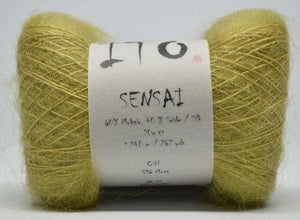 Sensai Lace-Yarn-Ito Yarns-Moss 316-The Sated Sheep