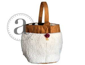 Tall Caddy-Bags-Atenti-Sherpa-The Sated Sheep