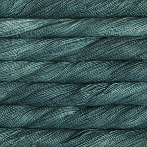 Silkpaca Lace-Yarn-Malabrigo-412 Teal Feather-The Sated Sheep