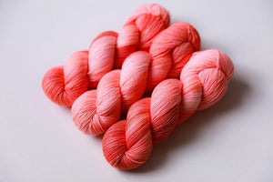Qing Fingering-Yarn-Qing-Snapper-The Sated Sheep