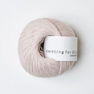KFO Cotton Merino-Yarn-Knitting for Olive-Soft Rose-The Sated Sheep
