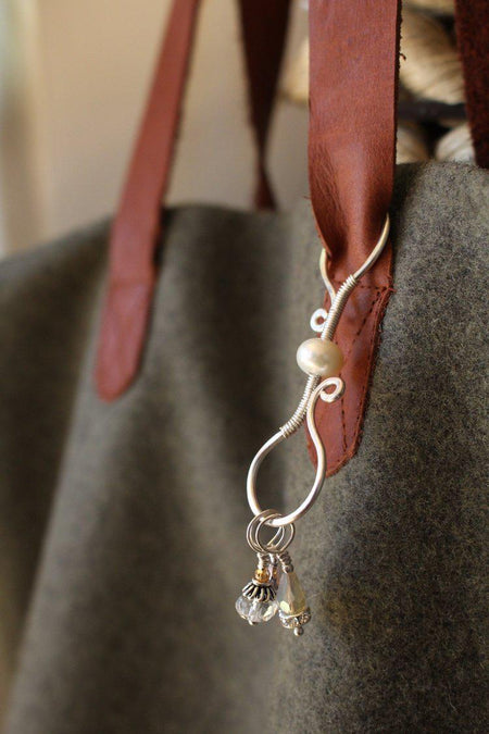 Stitch Marker Purse Clip-Notions-NNK Press-The Sated Sheep