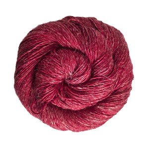 Susurro Sport-Yarn-Malabrigo-611 Ravelry Red-The Sated Sheep