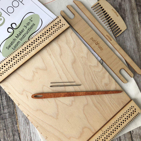 Swatch Maker 3 in 1 Loom-Weaving-Purl & Loop-The Sated Sheep