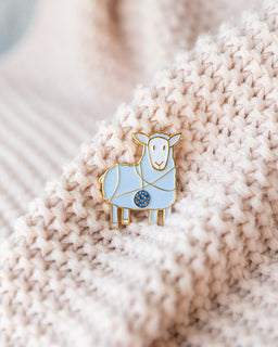 Tangled Sheep K2tog Pins-Notions-Quince and Co-blue-The Sated Sheep