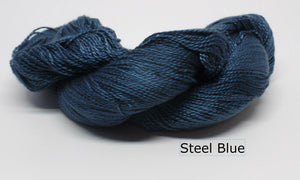 Tencel 3.2-Yarn-Ruch Designs-Steel Blue-The Sated Sheep