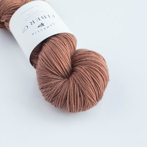 CFC Merino Sport-Yarn-Camellia Fiber Company-Terracotta-The Sated Sheep