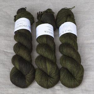Uschitita Singles-Yarn-Uschitita-Cabin in the Woods-The Sated Sheep