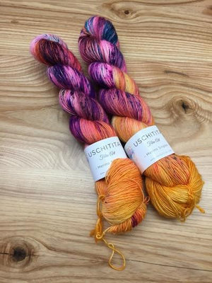 Uschitita Singles-Yarn-Uschitita-Coral-The Sated Sheep