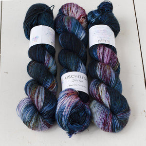 Uschitita Singles-Yarn-Uschitita-Midnight-The Sated Sheep