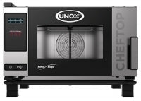 Unox ChefTop Mind.Maps One - 3 Tray x GN 1/1 Combi Steam Oven