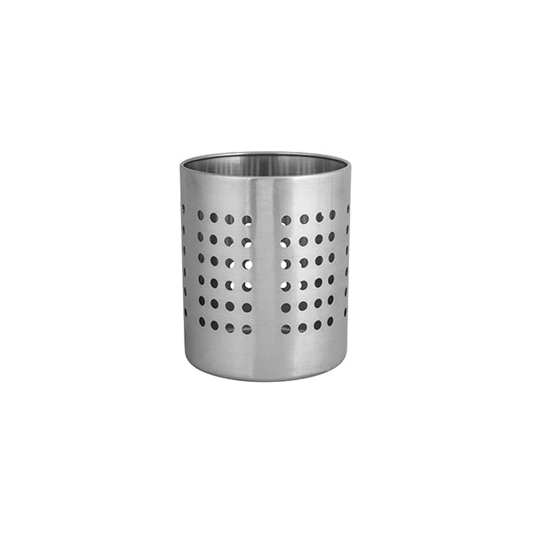 Utensil Holder Stainless Steel 120mm diameter