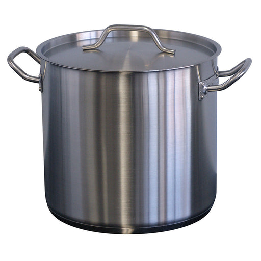 Forje Stockpot Stainless Steel 12 litre w/lid