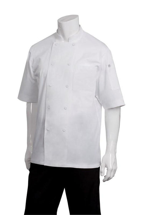 Chef Jacket Cool Vent Short Sleeve