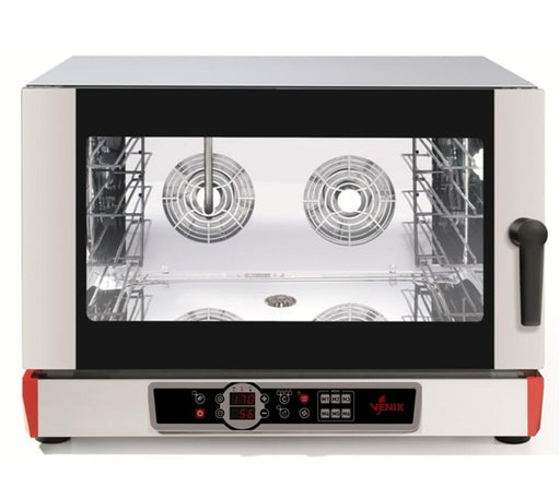 VENIX BURANO B04DV6.16  - Electric Convection Oven - Digital Control & Steam Function - 4 600x400