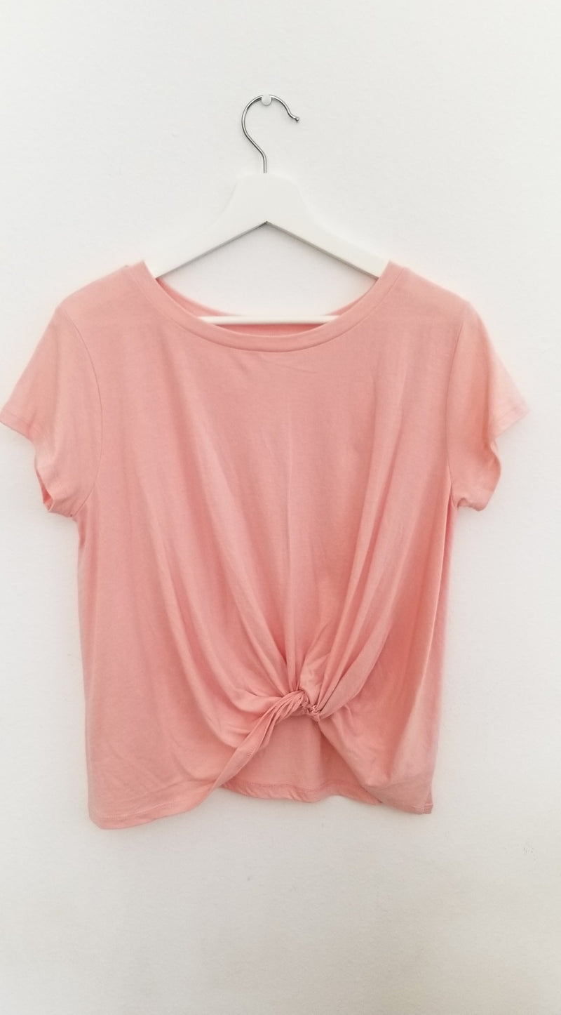 Knotted Dream Top-Tops-Honeyed Boutique