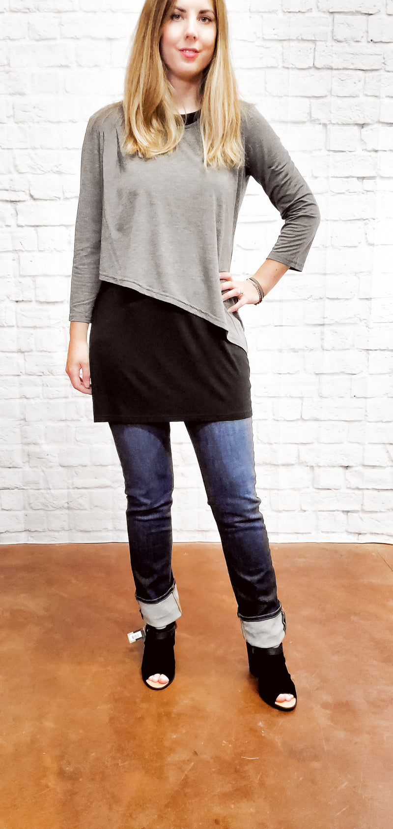 Carrie Layered Tunic Top