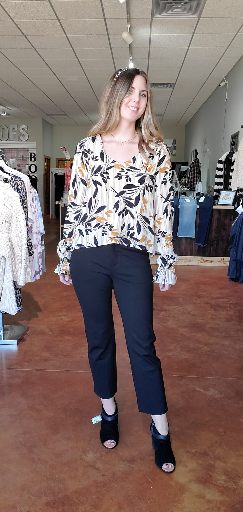 Fall Petal Blouse