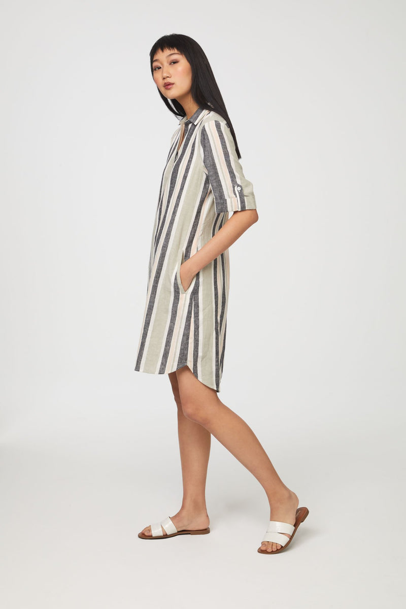 Emelia Chinois Dress-Honeyed Boutique