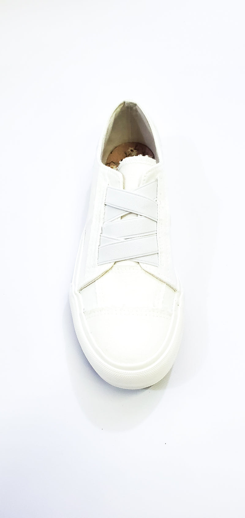 White Slip On Sneakers