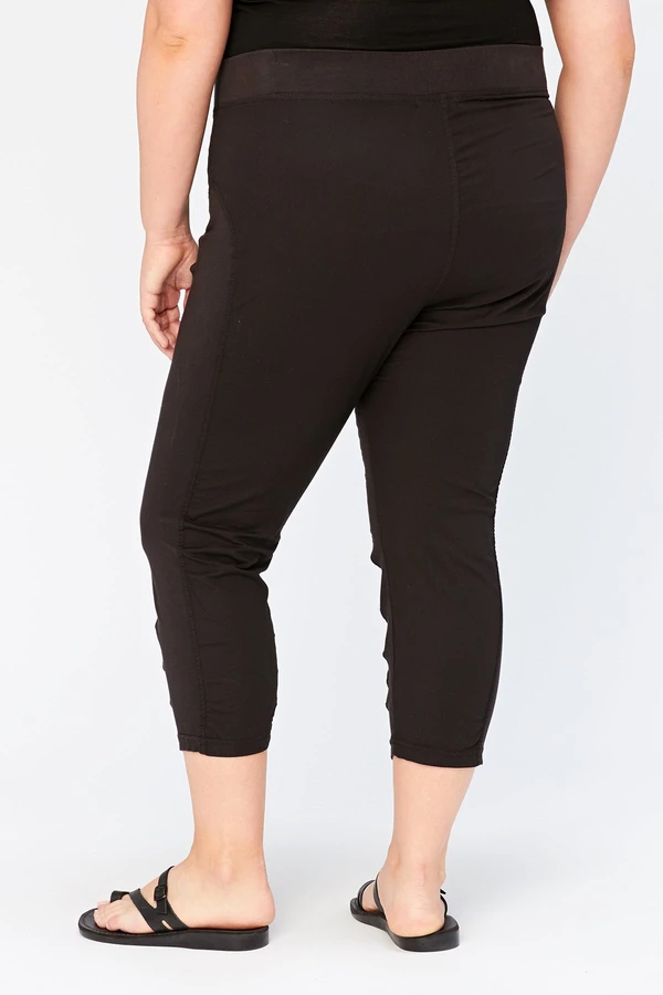 Plus Jetter Crop Bottoms