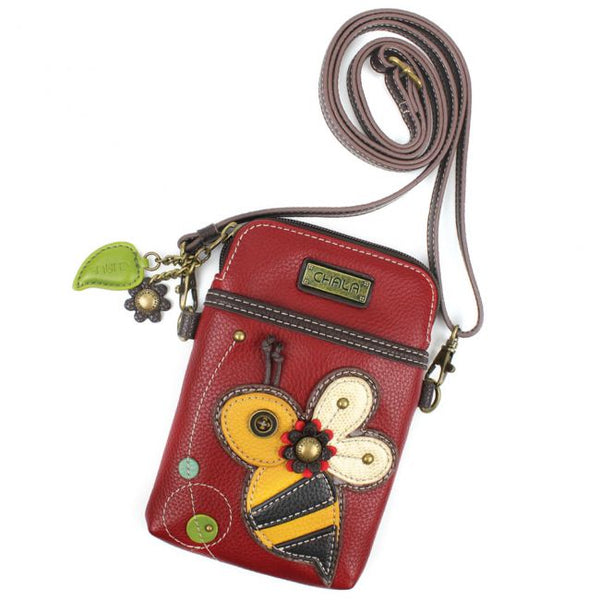 Bee Crossbody Cellphone Purse