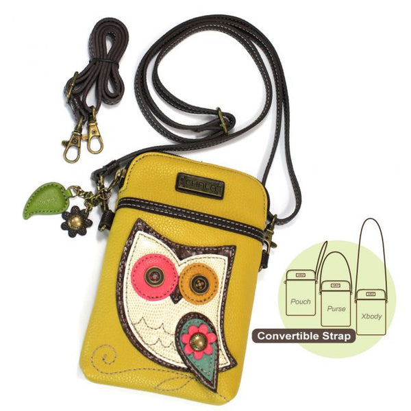 Owl Crossbody Cellphone Purse