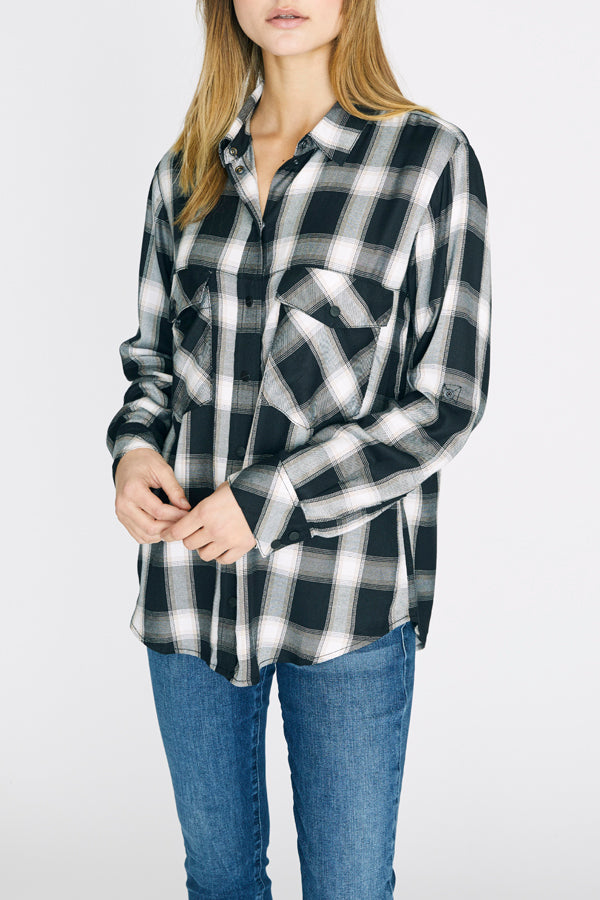New Generation Boyfriend Shirt-Honeyed Boutique
