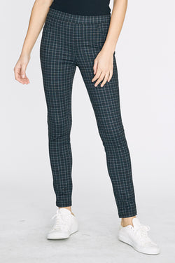 Camden Plaid Leggings-Honeyed Boutique