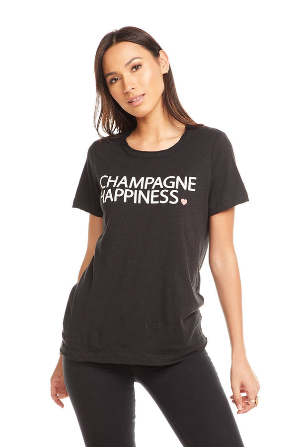 Champagne Happiness Graphic Tee