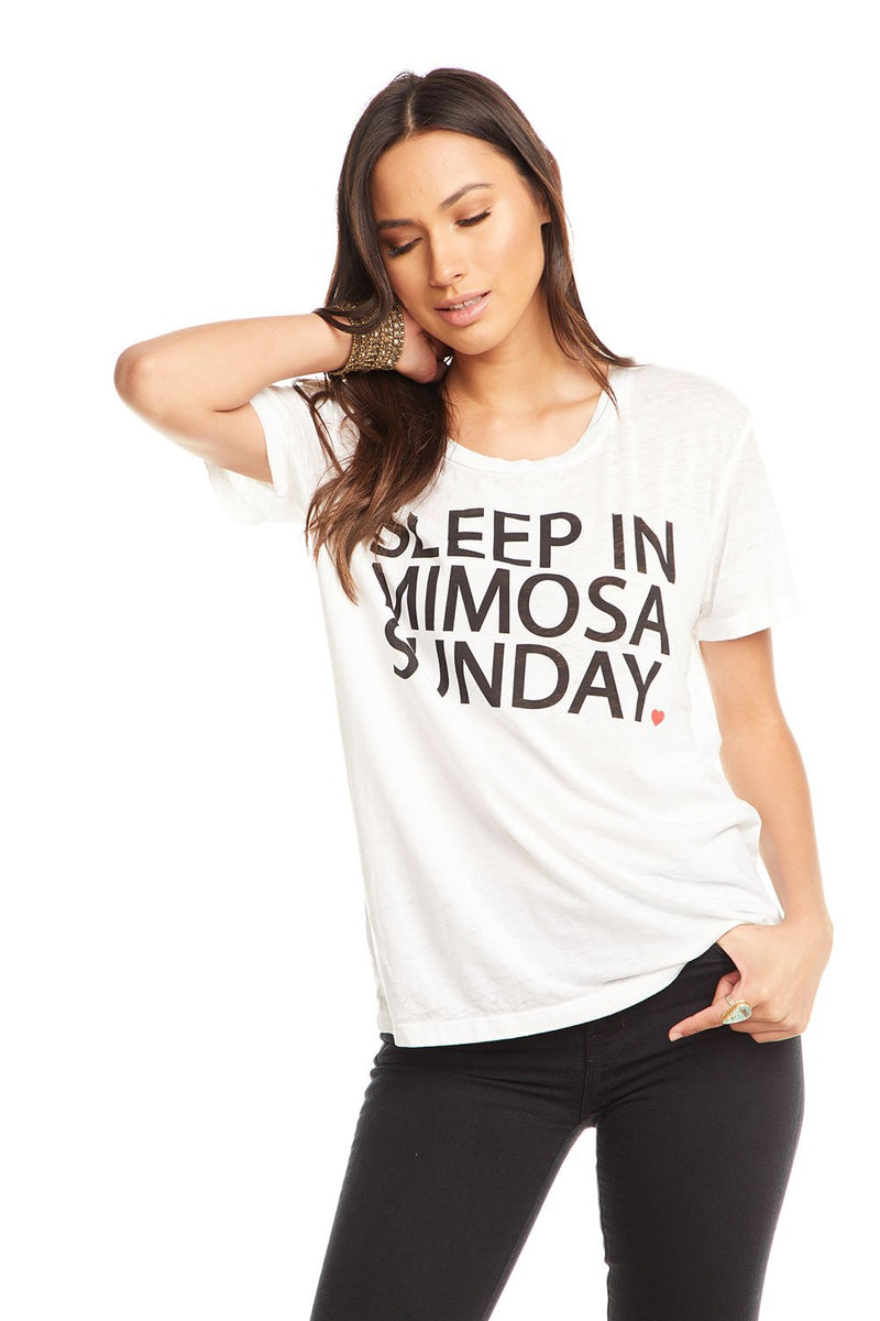 Sleep In Mimosa Sunday Graphic Tee