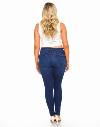 Curvy Skinny Fit Jeans-Honeyed Boutique